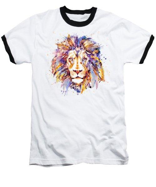 Lion Head Baseball T-Shirt