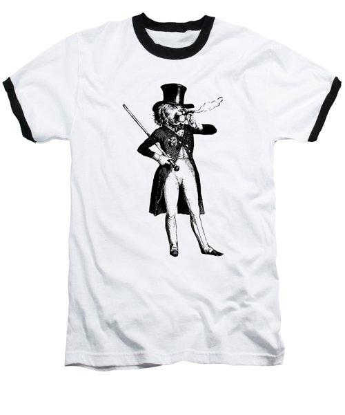 Lion King Grandville Transparent Background Baseball T-Shirt