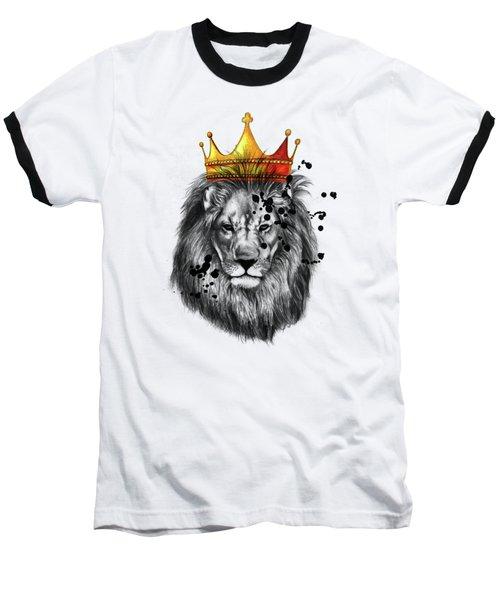 Lion King  Baseball T-Shirt by Mark Ashkenazi