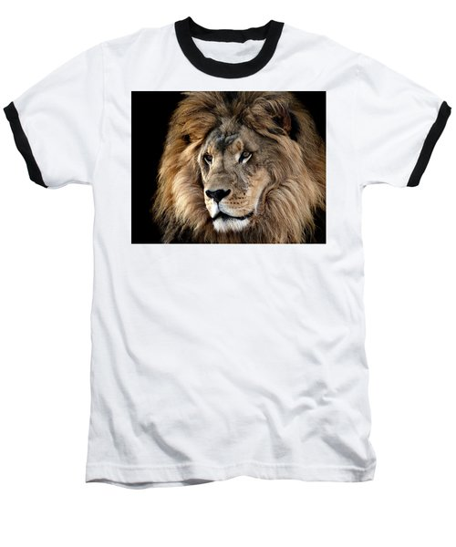 Lion King Of The Jungle 2 Baseball T-Shirt