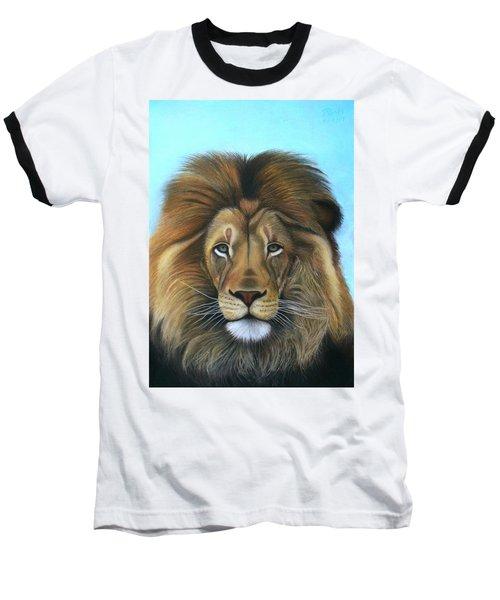 Lion - The Majesty Baseball T-Shirt