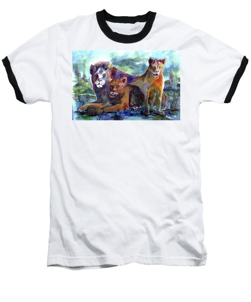 Lion's Play Baseball T-Shirt