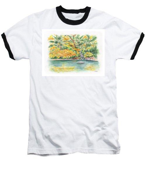 Lithia Park Reflections Baseball T-Shirt