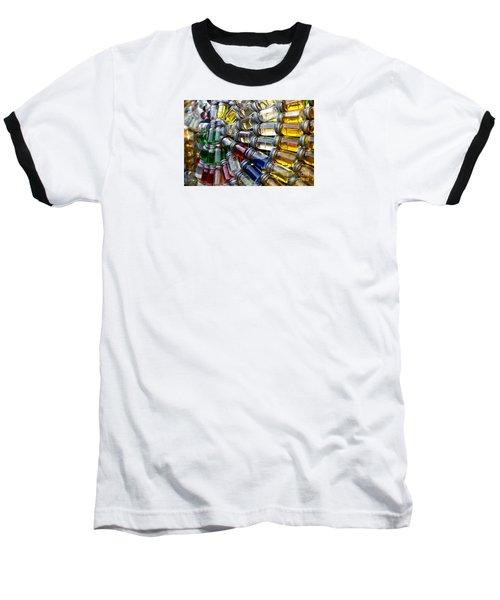 Little Bottles Of Sunshine Baseball T-Shirt by Rebecca Davis
