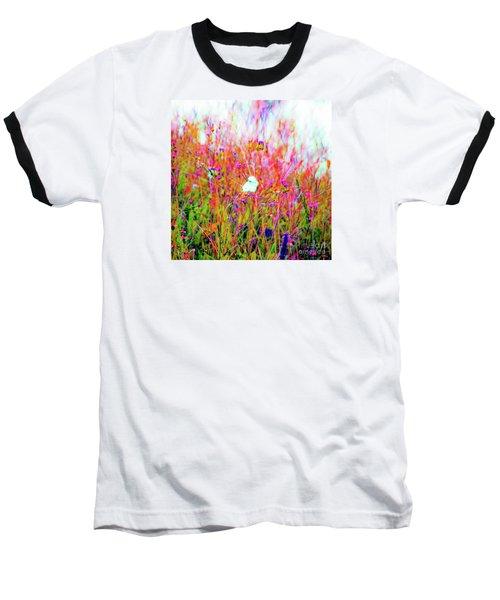 Little Butterfly Fly Baseball T-Shirt