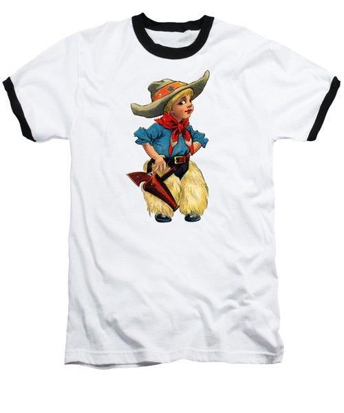 Little Cowboy T Shirt Baseball T-Shirt