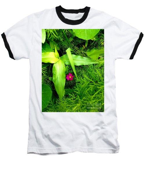 Little Flower Baseball T-Shirt