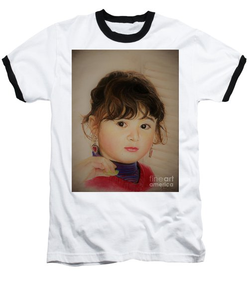Little Girl Baseball T-Shirt