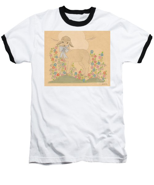 Little Lamb Baseball T-Shirt