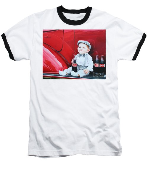 Little Mason Baseball T-Shirt by Mike Ivey
