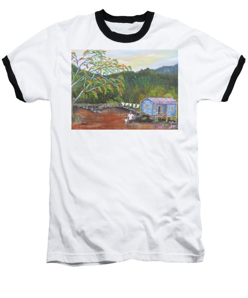 Little Paradise Baseball T-Shirt