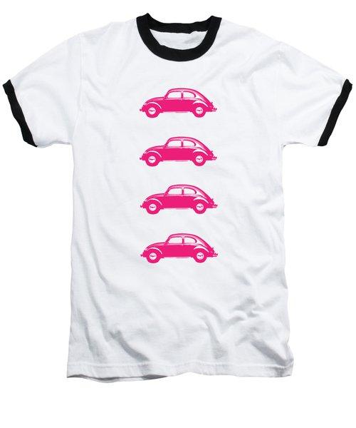 Little Pink Beetles Baseball T-Shirt