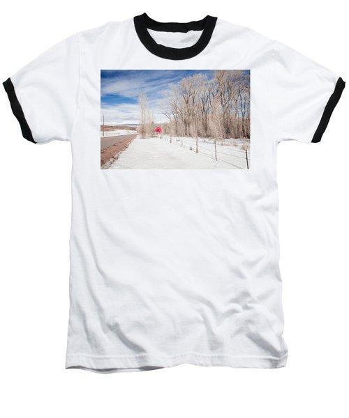 Little Red Barn Baseball T-Shirt