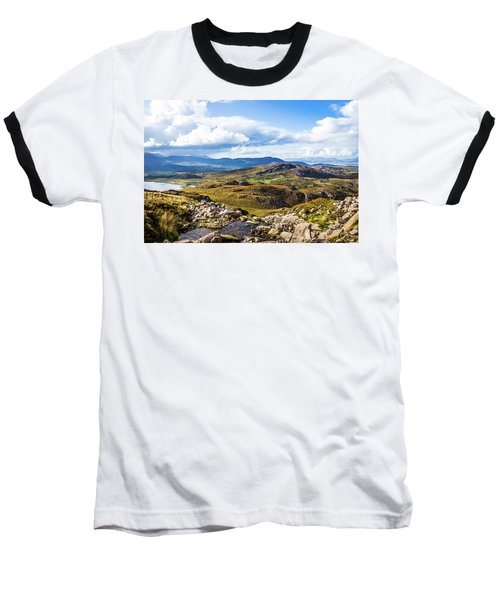 Little Stream Running Down The Macgillycuddy's Reeks Baseball T-Shirt by Semmick Photo