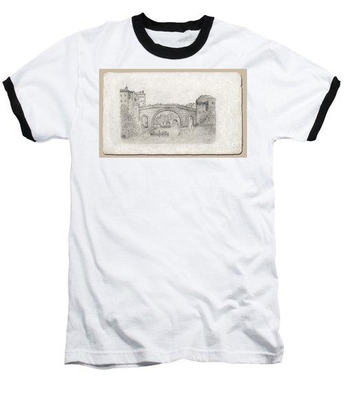 Liverpool Bridge Baseball T-Shirt