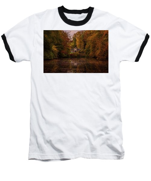 Living Between Autumn Colors Baseball T-Shirt