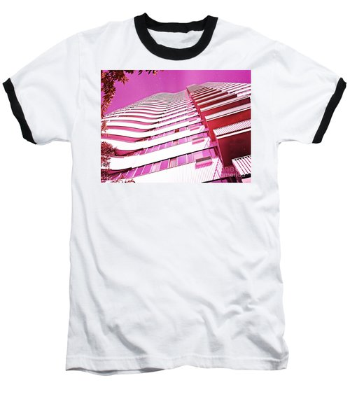 Living Pink Baseball T-Shirt