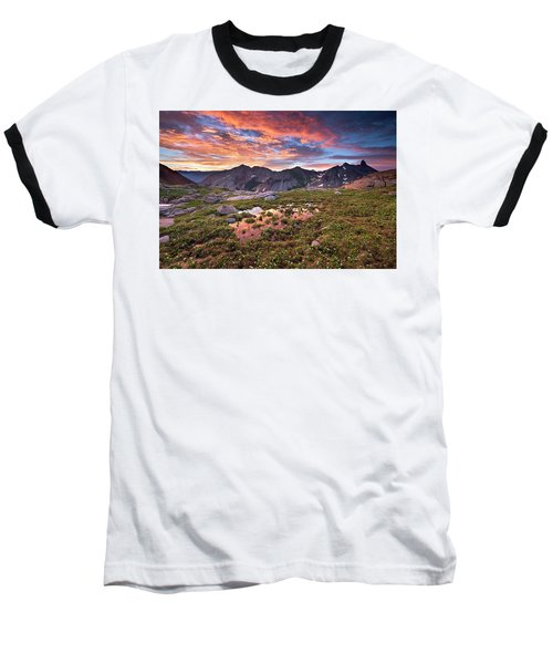 Lizard Head Wilderness Baseball T-Shirt
