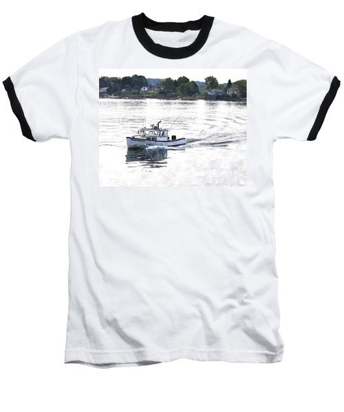 Lobster Boat Lbwc Baseball T-Shirt