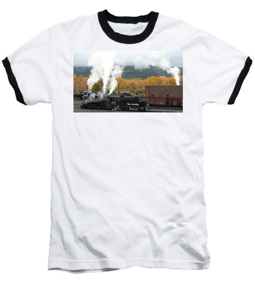Locomotive At Chama Baseball T-Shirt