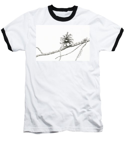 Lodgepole Pine Cone Baseball T-Shirt