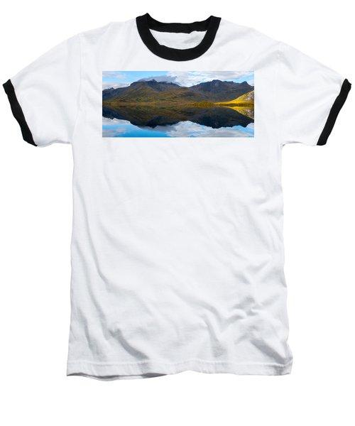 Lofoten Lake Baseball T-Shirt