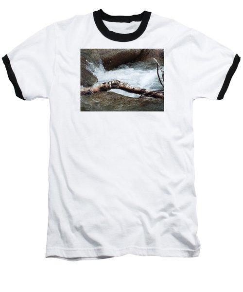 Log At White Water Baseball T-Shirt