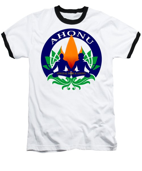 Logo Of Ahonu.com Baseball T-Shirt