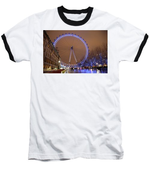 Baseball T-Shirt featuring the photograph Big Wheel by David Chandler