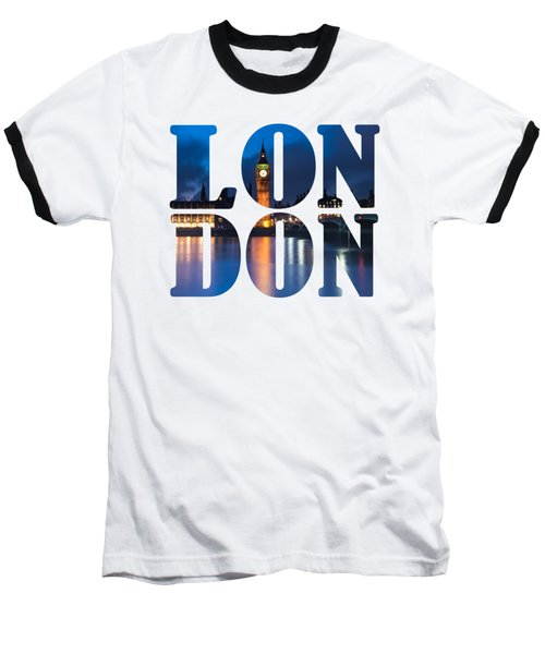 London Letters Baseball T-Shirt