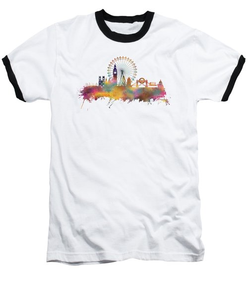 London Skyline Baseball T-Shirt