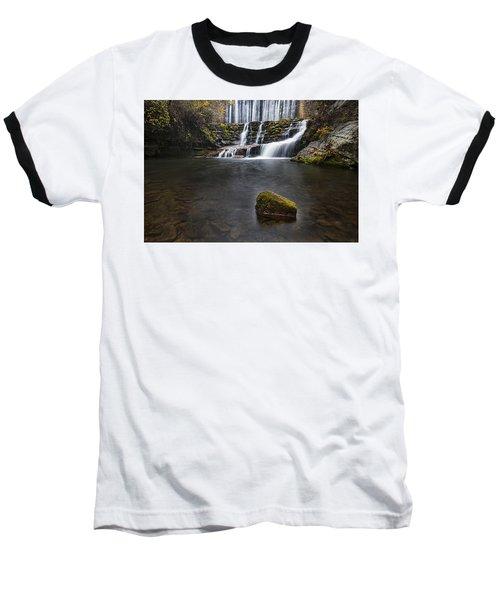 Lone Rock At The Falls Baseball T-Shirt