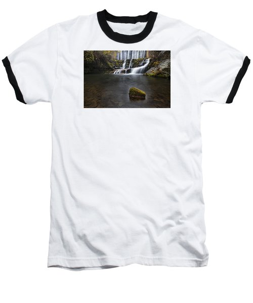 Lone Rock At The Falls Baseball T-Shirt