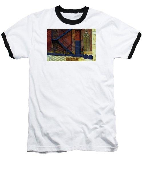 Lonely Days Parking Garage V2 Baseball T-Shirt by Raymond Kunst