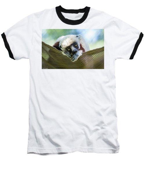 Lonely Lemur Baseball T-Shirt