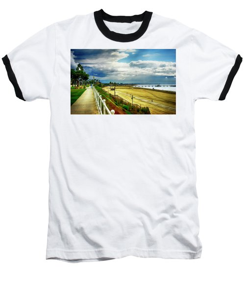 Baseball T-Shirt featuring the photograph Long Beach Bluff Park by Joseph Hollingsworth