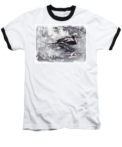 Long-tailed Duck Baseball T-Shirt