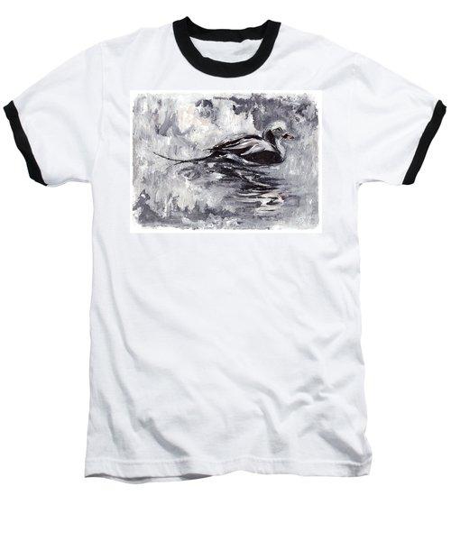 Long-tailed Duck Baseball T-Shirt