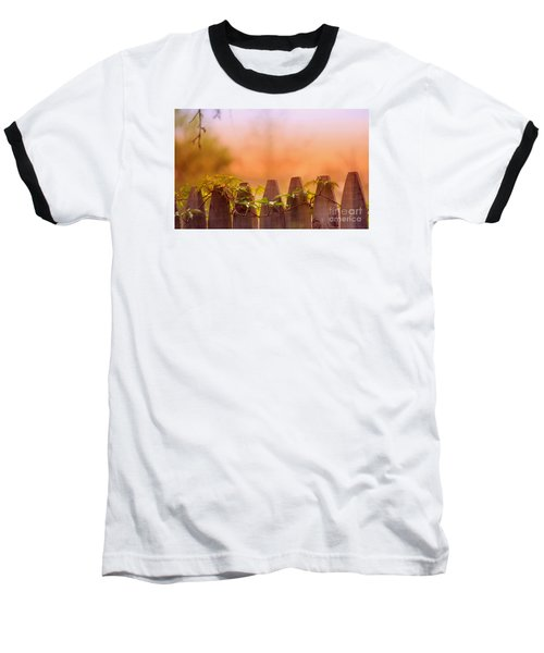 Baseball T-Shirt featuring the photograph Look Beyond The Boundary by Rima Biswas