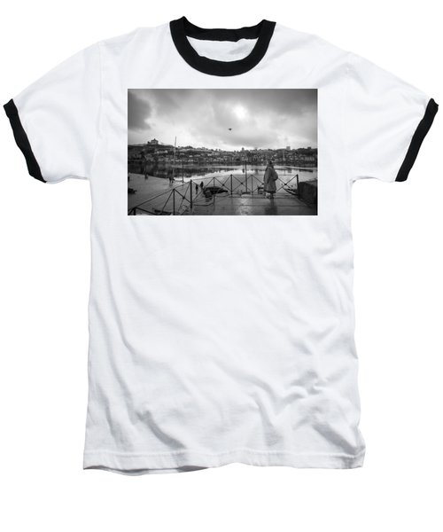 Looking And Passing By Baseball T-Shirt