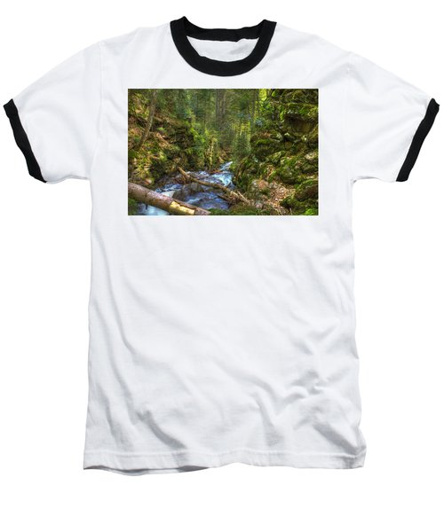 Looking Down The Gorge Baseball T-Shirt