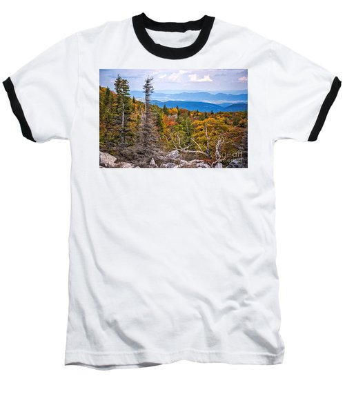 Looking East From Bear Rocks 4290c Baseball T-Shirt