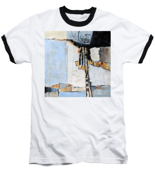 Baseball T-Shirt featuring the painting Looking For A Way Out by Ron Stephens
