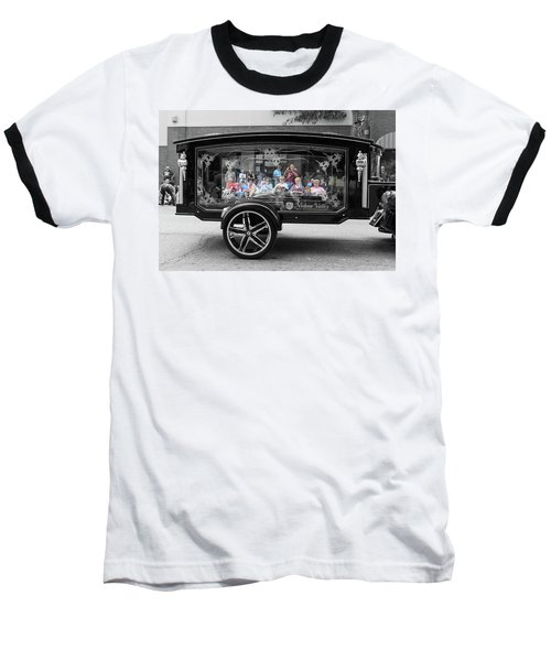 Looking Through The Glass Carriage Baseball T-Shirt