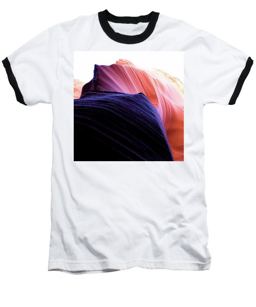 Baseball T-Shirt featuring the photograph Looking Up - Dark To Light by Stephen Holst