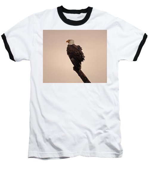 Baseball T-Shirt featuring the photograph Looks Like Reign by Robert Geary