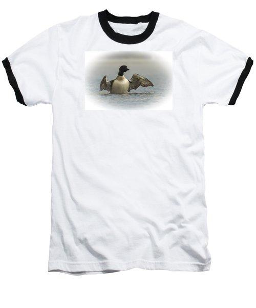 Loon 1 Baseball T-Shirt