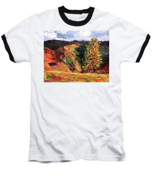 Loose Landscape Baseball T-Shirt