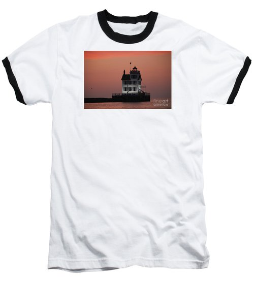 Lorain Lighthouse 1 Baseball T-Shirt