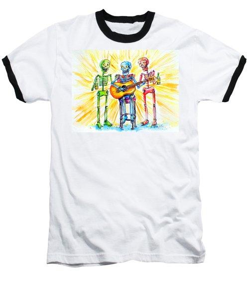 Los Tres Cantantes Baseball T-Shirt